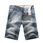 NEW MENS FOXJEANS DENIM MEN'S BLUE JEANS SHORTS SIZE 32, 34,36,38,40,42,44