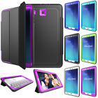 """Shockproof Rubber Case Folio Cover Stand Fr Samsung Galaxy Tab E 9.6""""T560 Tablet"""