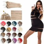 "AAA 1g/s Loop Micro Ring Real Human Hair Extensions 50 Strands /50G 16""-30"" ALL"