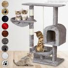Cat Kitten Scratching Post Tree Bed Climbing Play Toy Activity Centre Compact
