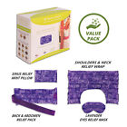 Heating Pad Set for Natural Pain & Stress Relief- Microwaveable Therapy Packs