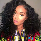 Loose Natural Curly 100% Brazil Remy Human Hair Wigs Lace Front  Full Lace Wigs