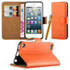 Apple iPod Touch 5th 6th Generation Flip Wallet Leather Book Stand Case Cover