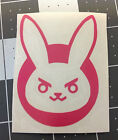 Overwatch D.Va Bunny Vinyl Decal - Multiple Colors and Sizes Available