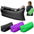Portable Inflatable Air Sleeping Bag Camping Bed Beach Lounge Lazy Outdoor Sofa