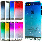 Hard Back Raindrop Case Cover for Apple iPhone 4s 5s with FREE Screen Protector