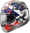 ARAI RX-Q GRAPHIC Flame Red/White/Blue SM LG 2XL Motorcycle Helmet NEW IN BOX