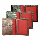 Jeffery West Croc Print Leather iPad 2 Cover