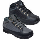 Mens Voi Jeans Boots Designer Hi Top Hiker Walking Lace Up Shoes Leather Quilted