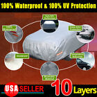 9 Layers PEVA Blue Full Car Cover Waterproof Outdoor UV Snow Rain Dust Resist A1