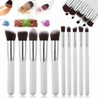 5-32pc Makeup Brushs Set Kit Professional Soft Cosmetic Eyebrow Shadow Brush Bag