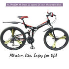 Altruism X6pro New Mountain Folding Bike 21 Speed 26 Inch Steel Folding Bicycle