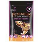 Pet Munchies Salmon Fillets ~ Rich Source of Omega 3 & 6 ~ Various Quantities