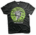Gas Monkey Garage Green Logo Affe Blood Sweat & Beers Männer Men T-Shirt