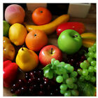 Lifelike Decorative,Plastic Artificial Fake Fruit Home Decor Craft Orange Apple
