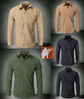 Men's Tactical Quick Dry Long Sleeve Shirt Breathable Operator Patrol Instructor