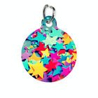 Pet ID Name Tag Colour Stars Personalised Customised Dog Cat Name Tag