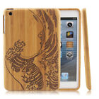 Natural Waves Wood Case Bamboo Cover for iPad Mini 1 2 3/iPad 2 3 4/iPad air