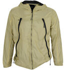 Mens New Foray Classic Hooded Windbreaker Polyester Zipper Jacket Coats Sweats