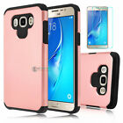 NEW Shockproof Hybrid Dual Layer Matte Defender Case Cover For Samsung Galaxy J7