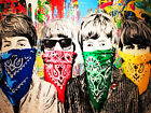 COOL GRAFFITI STREET ART CANVAS #48 MR BRAINWASH BANKSY STYLE CANVAS PICTURES