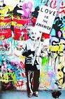 COOL GRAFFITI STREET ART CANVAS #52 MR BRAINWASH BANKSY STYLE CANVAS PICTURES