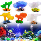 Aquarium Landscaping Decor Artificial Fake Soft Coral Plant Fish Tank Ornament
