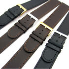Very long XXL Genuine Leather Watch Band Strap Choice of sizes Black or Brown