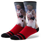 STANCE NEW Mens Red NBA Chicago Bulls Socks Rodman BNWT