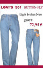 Levi`s 501 Light Broken New  z.B. W31/L32 nur 72,95€