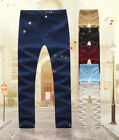 process of joining the navy - New Men's Pants Slim Joining together Pants Cotton Casual Pants Trousers