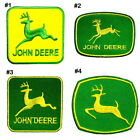 JOHN DEERE agricultural Tractor Sign forestry machine Shirt Applique Iron Patch
