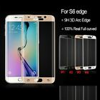 Full Curved Premium Tempered Glass Screen Protector for Samsung Galaxy S6 Edge
