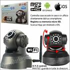 TELECAMERA IP CAMERA WIFI INTERNET + MEMORIA SD PER amsung Galaxy J2