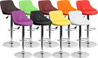 Quilted Bucket Seat Bar Stool with Adjustable Height & Swivel