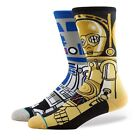 STANCE NEW Men's Star Wars Socks Droid Brown BNWT