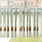 "Start At 69"" Wide Grommet Kitchen Cafe Curtains White Lovely Panda Tier Curtains"