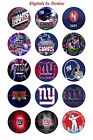 "NEW YORK GIANTS 1 "" CIRCLES  BOTTLE CAP IMAGES. $2.45-$5.50 ***FREE SHIPPING*** $3.45 USD on eBay"
