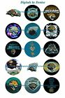 "JACKSONVILLE JAGUARS 1 "" CIRCLES  BOTTLE CAP IMAGES. $2.45-$5.50 FREE SHIPPING $2.45 USD on eBay"