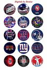 "NEW YORK GIANTS 1"" CIRCLES BOTTLE CAP IMAGES.$2.45-$5.50 *****FREE SHIPPING***** $2.45 USD on eBay"