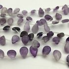 Melon Seed Amethyst Gemstone Beads 10x15x5mm For Necklace or Bracerlet Design
