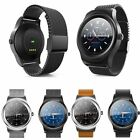 Bluetooth Smart Watch Wrist Heart Rate Monitor Fitness Tracker For iOS Android