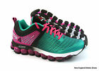 Reebok women Z Jet Run running shoes size 9 - Black / Teal / Pink / White M46546