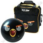 "Bowling SET ""Angry Birds"" von Ebonite Funball+Tasche Black"