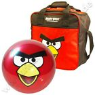 "Bowling SET ""Angry Birds"" von Ebonite Funball+Tasche Red"