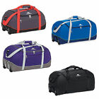 New High Sierra Wheel N Go Rolling Travel Backpack Duffel Bag 24
