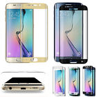 Samsung Galaxy S7 Edge Note 7 Tempered Glass 3D Screen Protector + TPU Case