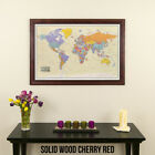Tan Oceans World - Travel Map - Track your Wanderlust - Great Wedding Gift