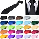 Kyпить New Solid Color Plain Satin Men's Tie Neckti на еВаy.соm