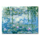 Water Lilies Monet Painting Reproduction Pictures Home Decor Wall Art Framed